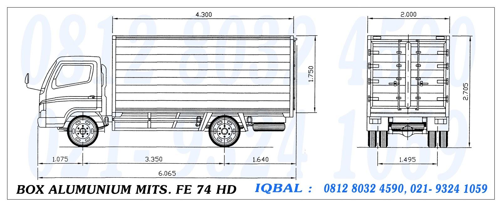 Ukuran Mobil L300 Soalan Ag